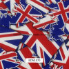 0.5m Width England Flag Pattern Water Transfer Printing Films for Car Parts and Outdoor Items (bdn1070)