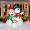 Holiday Decoration Merry Christmas Inflatable Santa Claus