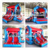 New Products Inflatable Hero Jumping Castle Inflatable Bouncer Jumping Combo House