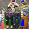 Attractive Amusement Park Equipment Indoor Kids Mini Ferris Wheel for Sale