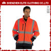 ANSI/107 En471 Standard High Visibility Reflective Safety Coat (ELTHJC-497)