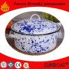 5qt Enamel Stock Pot Kitchenware Home Equipment Porcelain