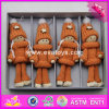 2017 New Products Christmas Wearing Warming Wooden Doll Making Supplies W02A245