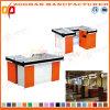 Supermarket Metal Checkout Bill Counter Cashier (Zhc1)