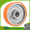 European Type PU Cast Iron Wheel for Caster