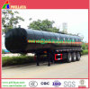 35m3 3axles Wax Asphalt Heating Semi Truck Bitumen Tank Trailer