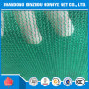 Green Scaffolding HDPE Knitted Construction Safety Net