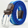 F35 Classic Woven Braided Elastic Boys Belt for Jeans