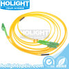 Single-Mode 9/125 Duplex Fiber Optic Patch Cable Lca to Lx5a Yellow