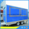 3.9m Length Enclosed Fast Food Caravan