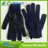Slow Edge Point Plastic Nylon Yarn Man Rubber Non-Slip Gloves