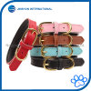 Basic Classic Padded Leather Pet Collars for Cats/Dogs
