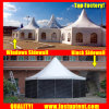 Luxurious ABS Hexagon Tent for Car Show Diameter 10m 100 People Seater Guest
