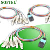 Single Mode Duplex Fiber Optic 12 Cores Single Mode Om3 MPO Patch Cord