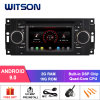 Witson Quad-Core Android 9.0 Car DVD GPS for Chrysler 300c Built-in WiFi Module