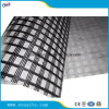 Self adhesive Type Fiberglass Geogrid for Asphalt Overlay Reinforcement