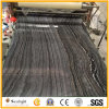 Chinese Polished Antique Wood Vein Marble, Ancient Black Wood Grainy Marble