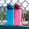400ml Slim Water Bottle Motivational Sports Bottle Portable Travel Bottle BPA-Free Heavy Duty Tritan Leak-Proof Protection