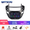 Witson Quad-Core Android 9.0 Car DVD GPS for Cheverolet Trax Full Video Output