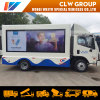 China Clw Group LED Public Activity Mobile Display Truck P3 P4 P5 P6 Outdoor Displaying 3-Sides Screen Mobile Advertising Truck