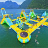 Commercial Floating Inflatable Water Park with Ce Pump for Lake