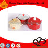 Enamel Casserole Round Casserole with Double Handles