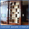 Customized Brown Stainless Steel Boutique Display Rack for Living Room