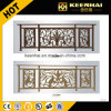 Artificial Fence Design Powder Coated Aluminum Garden Fence for Security