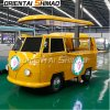 Volkswagen VW Electric Food Vending Cart Food Truck Mobile Food Cart for Sale