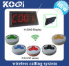 Digital Restaurant Table Calling System Button with Receptor