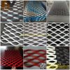 Powder Coated Expanded Metal Mesh Perforated Wire Mesh