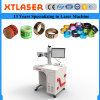 Fiber Laser Marking Machine with Rotary for Pigeon Bird Leg Rings Fiber Laser Marking