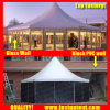 Made in China Clear Top Hexagon Tent for Marriage Diameter 8m 50 People Seater Guest