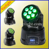 Popular 7PCS 10W 4 in L LED Wash Moving Head