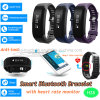 Bluetooth4.0 Smart Bracelet with Waterproof and Heart Rate Monitor H28