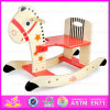 2015 New and Popular Rocking Horse Toy for Kid, Wooden Toy Rocking Horse for Children, Best Selling Baby Rocking Horse Toy W16D006