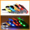 LED Flashing Light Safety Adjustable Comfortable TPU Pet Dog Puppy Collar