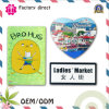 Popular Factory Price Rubber Printed Fridge Magnet with Bussiness Card/Fridge Magnet Maker