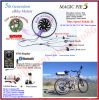 New! Bluetooth Programmable! 48V 1000W Golden Motor Magic Pie 5 Ebike Conversion Kit with Display Available for for Android/Ios