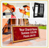 Outdoor a Frame Banner Stand/Poster Display Stand (80*200cm)