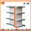Double Side Gondola Supermarket Display Store Shelf (ZHs636)