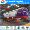Ghana 20ton 25mt Liquified Petroleum Gas LPG Road Tanker Semi Truck Trailer