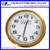 High Quality Custom Logo Printing Round Plastic Wall Clock (Item23)
