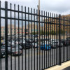 5 FT and 6 FT Height Powder Coated Black Color Ornamental Steel Fence
