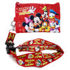 Minnie Mouse Lanyard with Coin Wallet -Pink