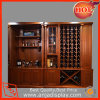 Wood Wine Wall Mount Cabinet with Counter and Drawer