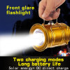 Ce Powered Reading Lamp Lantern Body Solar LED Emergency Lights for Homes Indoors