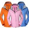 Winter Fashion Men/Women Waterproof 3 in 1 Sport Slim Ski Jackets with Pockets