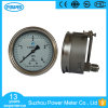 100mm Panel Mount Stainless Steel Pressure Gauge Manometer