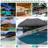 Tiki Bar Hut Synthetic Thatched Cottage Water Bungalow Umbrella Thatch